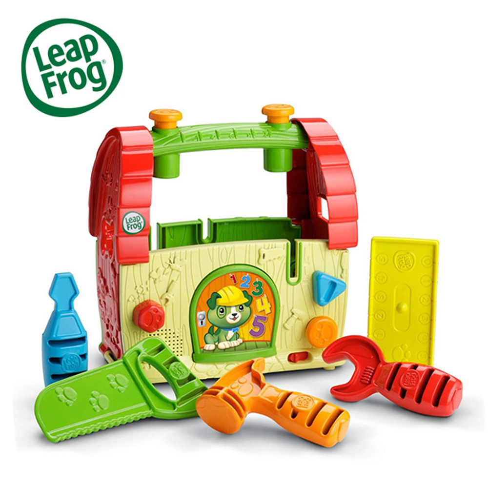 LeapFrog 美國跳跳蛙 探索工具箱 / 兒童學習玩具(適合2歲以上)