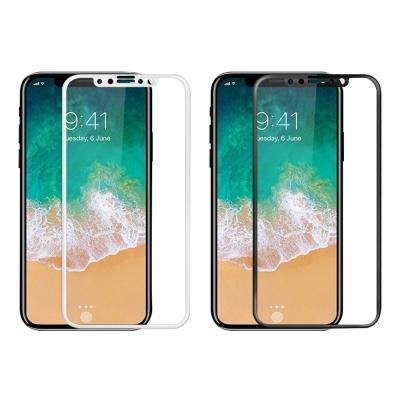 Cooyee Apple iPhone X 滿版玻璃貼-亮面-全膠