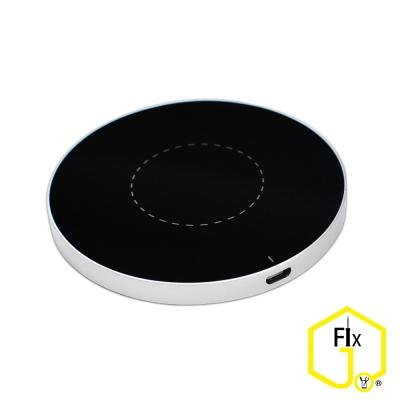Dr.O-J 超薄圓型鋁合金qi標準無線充電器