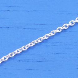 維克維娜 16吋純銀美人鍊。義大利925純銀單鍊