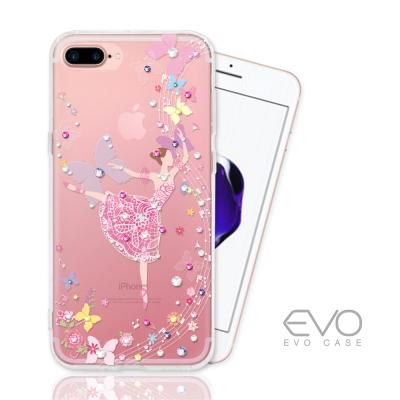 EVO CASE iphone 7 Plus 奧地利水晶彩繪防摔手機鑽殼-音符少...