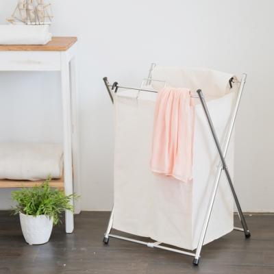 IKLOO宜酷屋_可提式髒衣收納籃/洗衣籃 (單格)