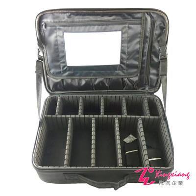 Xingxiang形向 雙層收納化妝箱(附雙背帶+鏡子)  6 K- 31 A
