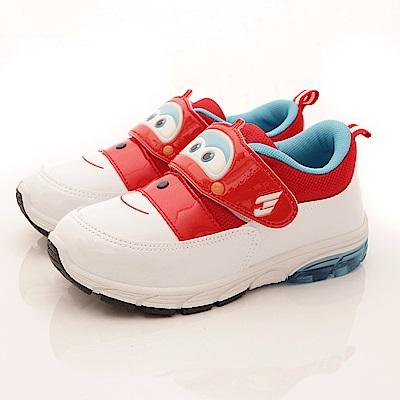 SUPER WINGS 電燈運動鞋款 SE3063紅(中小童段)T2