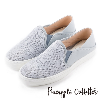 Pineapple-Outfitter-真皮鞋淺藍