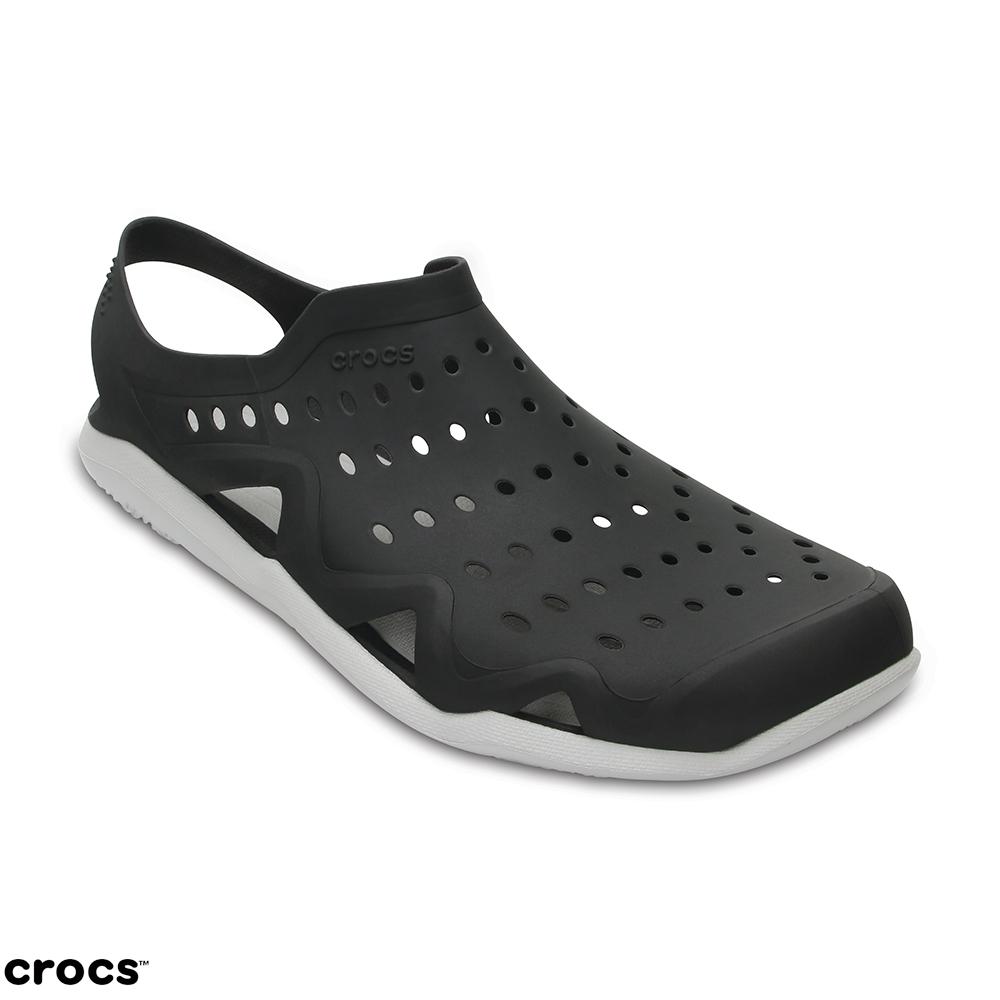 Crocs 卡駱馳 (男) 激浪涉水鞋-203963-069