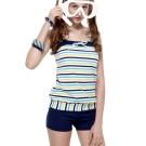 泳裝 兩件式 SPA 泡湯 二截式女泳裝 沙兒斯