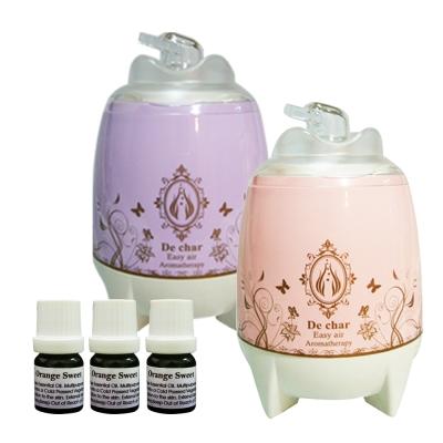 (二色選)Body Temple 超音波香氛水氧機 贈純精油 5 mlx 3 瓶