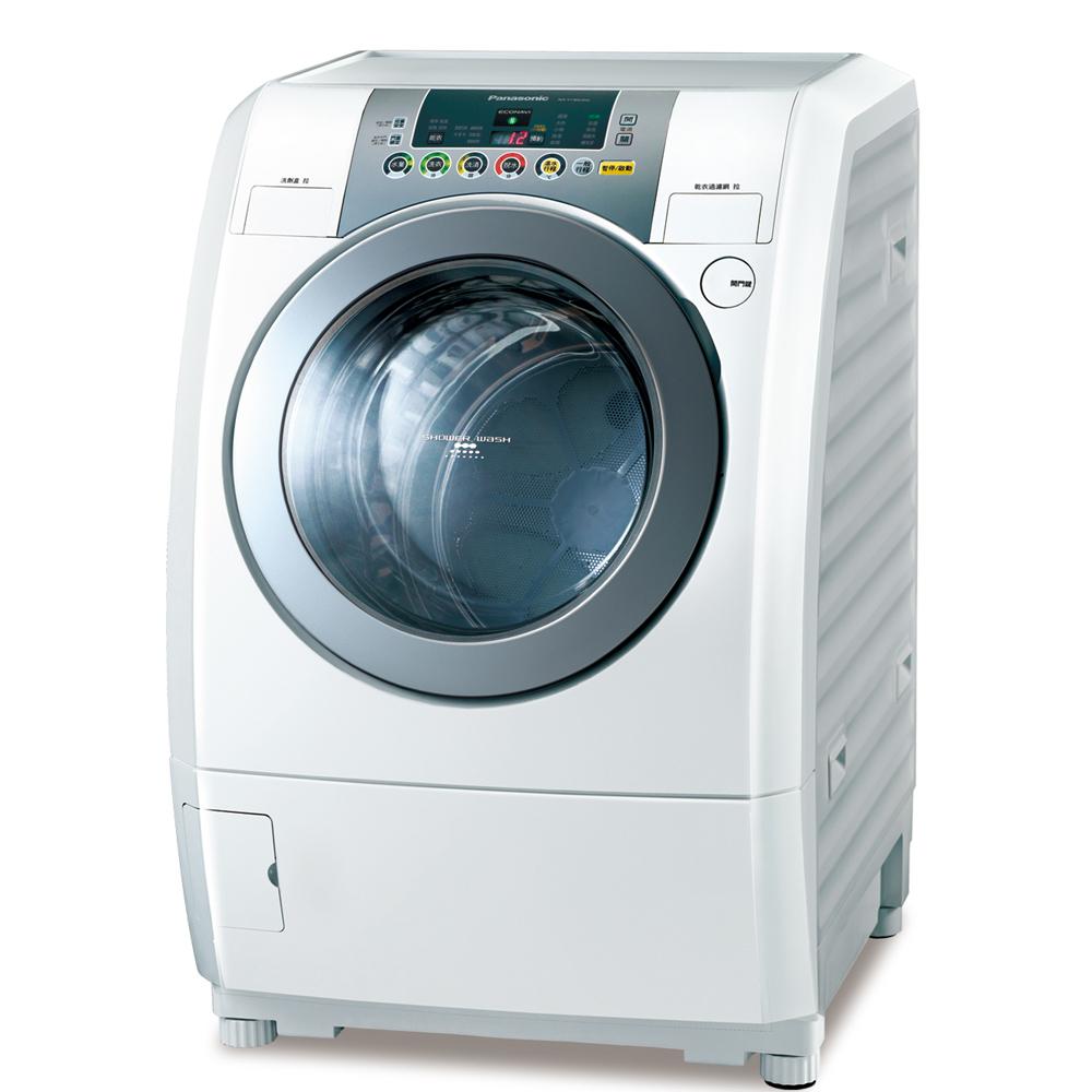 Panasonic國際牌13kg變頻滾筒式洗衣烘衣機NA-V130UDH-W