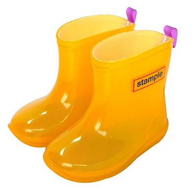 Stample日本製兒童果凍雨鞋(黃)