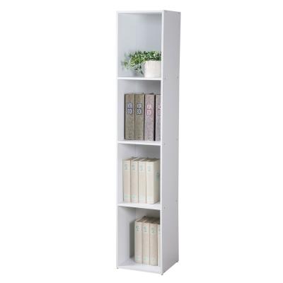 Homelike 現代風四格置物櫃-DIY