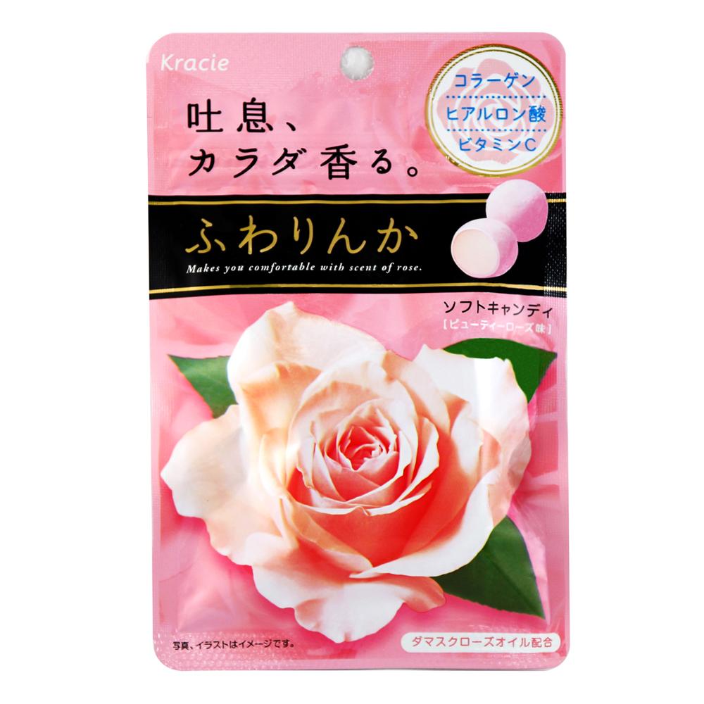 Kracie 玫瑰薔薇花香軟糖(32g)
