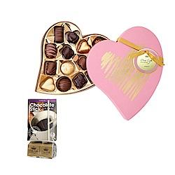 Diva Life 金典粉心+巧克力魔仗2入組