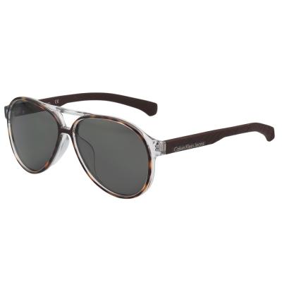 Calvin Klein Jeans -帥氣雷朋型太陽眼鏡(琥珀色)