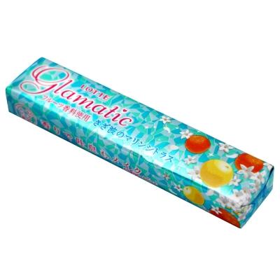LOTTE樂天-glamatic柑橘口香糖-21g