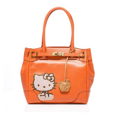 A.D.M.J Hello Kitty 35th Anniversary Bag-珠光橘