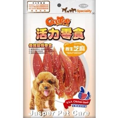 GooToe活力零食 芝麻雞腿肉片 130g~CR55~