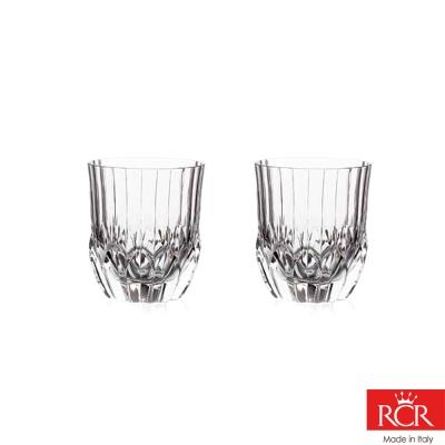 義大利RCR艾莉爾無鉛水晶威士忌杯 (2入)350cc