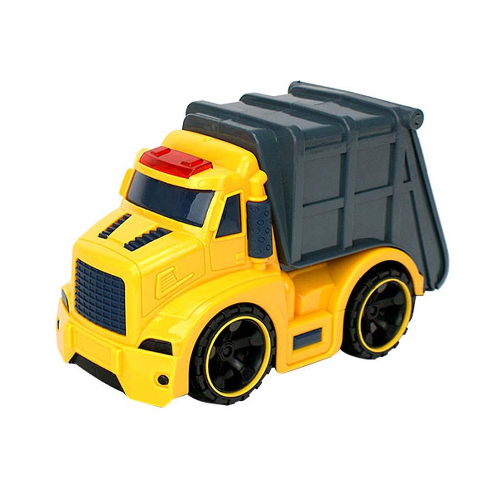 Amuzinc酷比樂 兒童玩具 磨輪動力車 聲光慣性工程環保車 6633-3