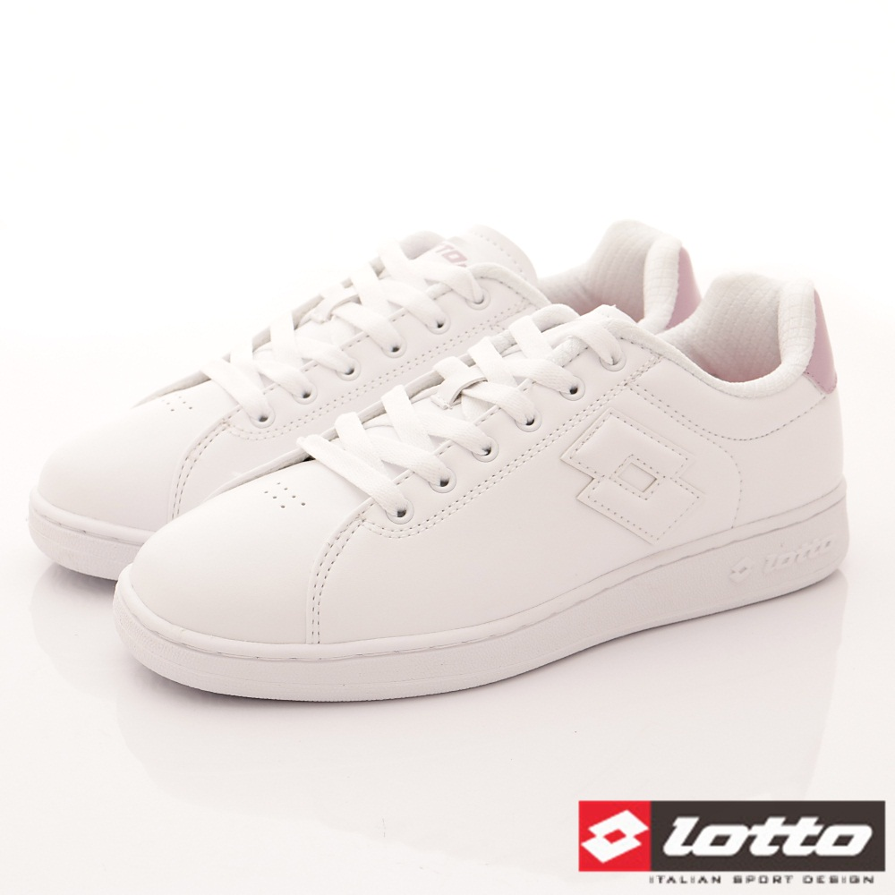 Lotto樂得-1973經典網球鞋 SI733白粉(女段)