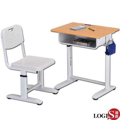 LOGIS-兒童成長學習課桌椅/書桌椅/課桌椅(白)