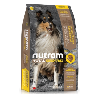 Nutram紐頓 T23無穀潔牙犬 火雞配方 犬糧 2.72公斤