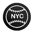 COACH NYC棒球貼紙(黑)