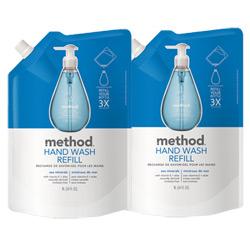 Method美則海藍礦物天然洗手乳(補充包)1000ml x 2包