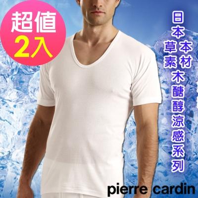 Pierre Cardin 皮爾卡登木醣醇涼感短袖衫(超值2件組)