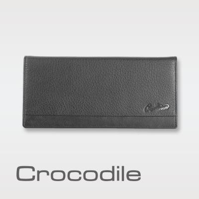 Crocodile Classic 經典系列荔紋軟皮長夾 0103-3351