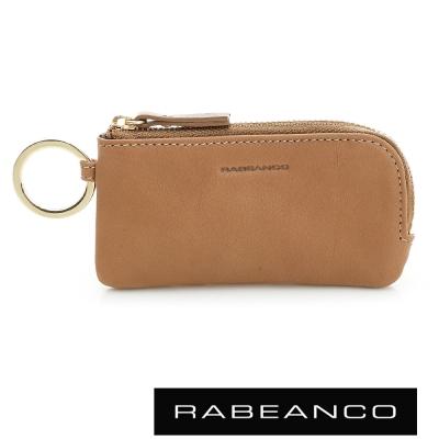 RABEANCO-迷時尚系列鑰匙零錢包-駝