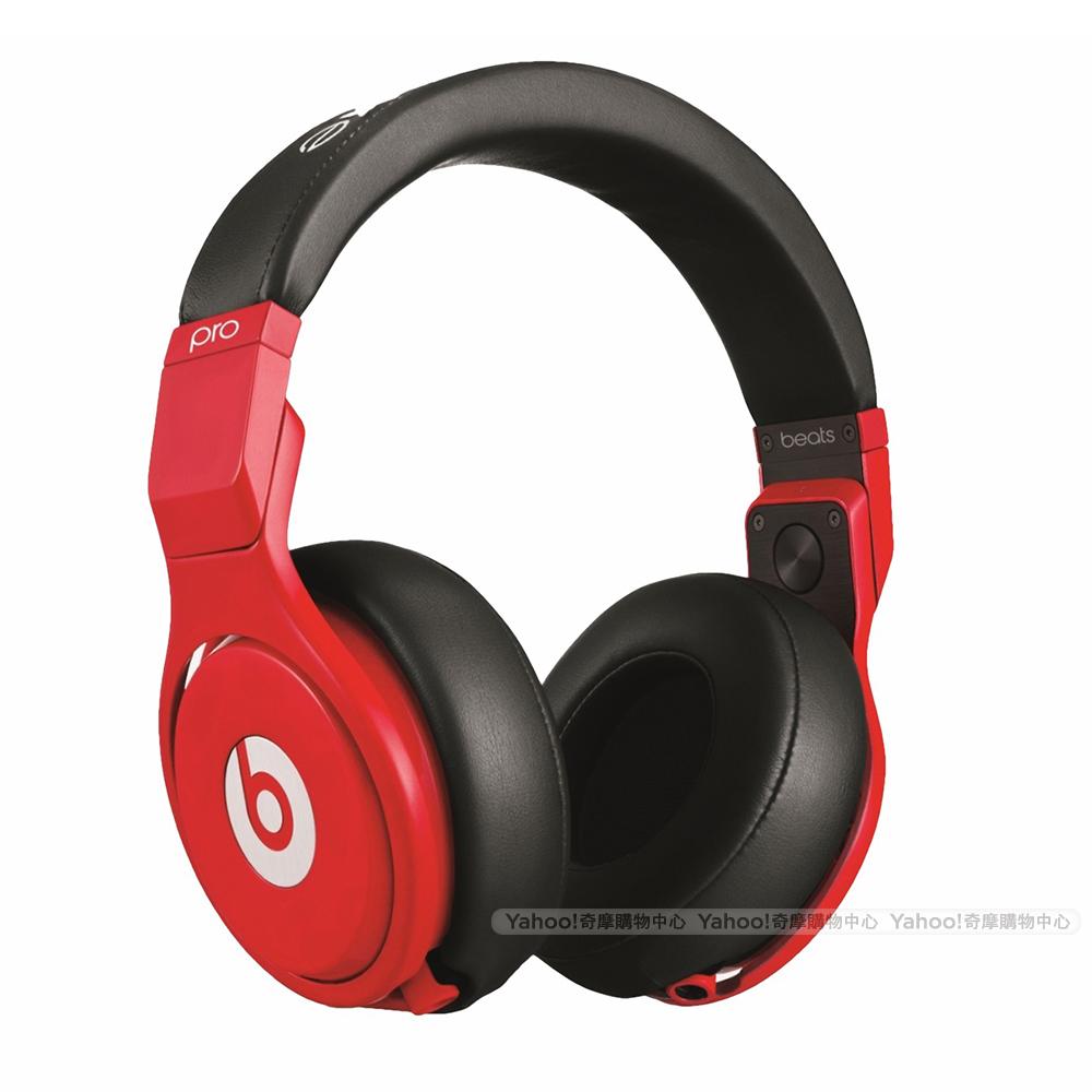 BEATS耳機Beats Pro 黑紅色 beats by dr.dre台灣代理公司貨