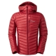 【Berghaus 貝豪斯】男款輕量溫度調節防潑水鵝絨外套F22MM6紅 product thumbnail 1