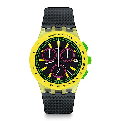 Swatch The Swatch Vibe YEL-LOL 明黃歡愉手錶