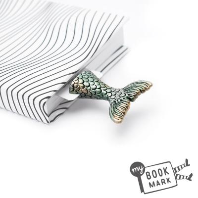 禮物myBookmark手工書籤-喜愛人類書籍的人魚
