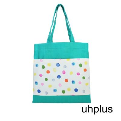 uhplus Twin Pocket 輕提袋-繽紛小宇宙(米)