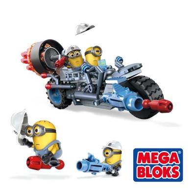 MEGA BLOKS美高-神偷奶爸 格魯摩托車(5Y+)
