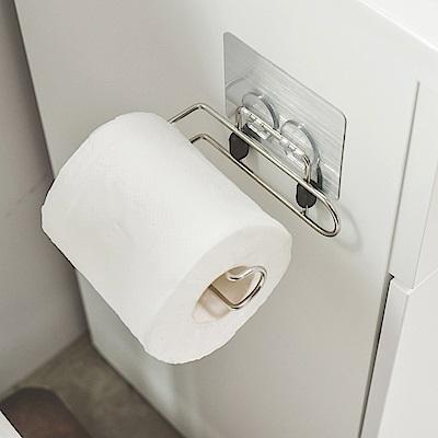樂貼工坊 不鏽鋼衛生紙架/捲筒式/金屬貼面-12.5x7.5x3