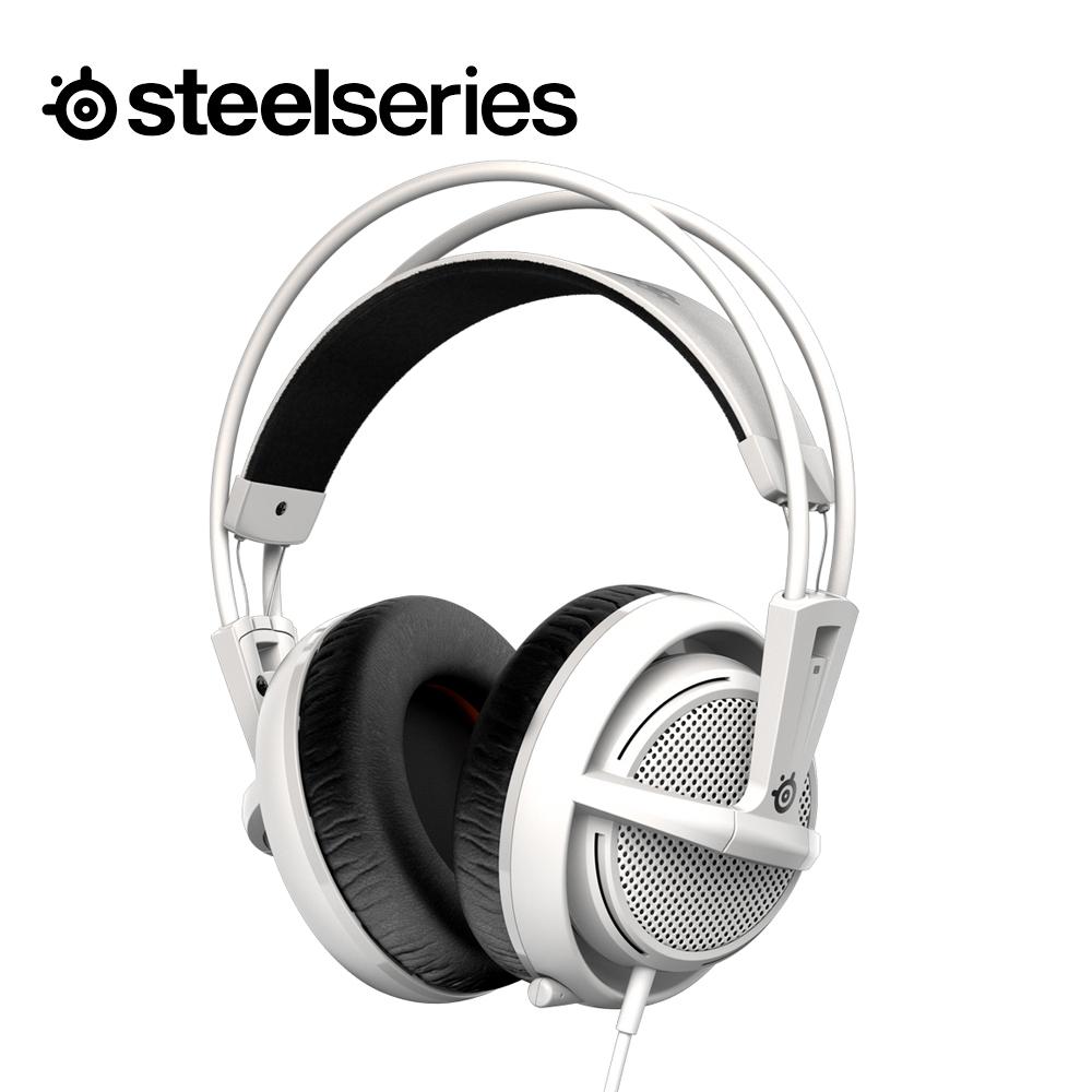 SteelSeries 賽睿 西伯利亞200 耳機麥克風 (白色)