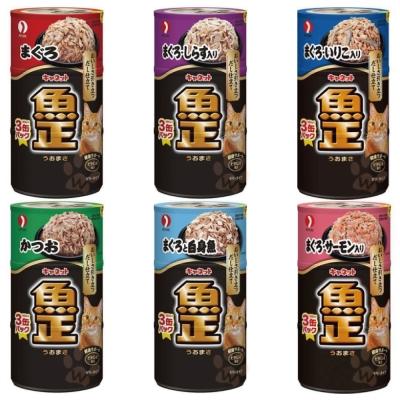 沛萊亞魚正貓罐160g*3罐裝