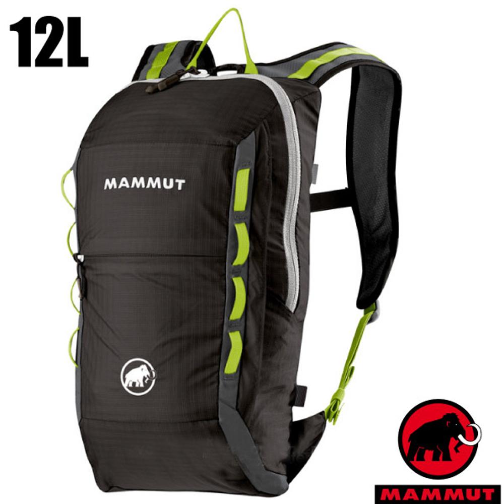 【瑞士 MAMMUT 長毛象】新款 Neon Light 輕量登山健行背包12L_石墨灰
