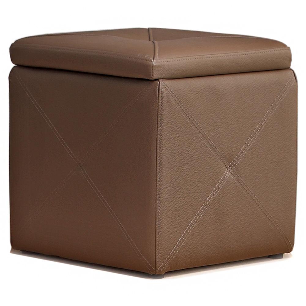 aaronation 愛倫國度 -可收納物品小方椅RT-1571-五色可選