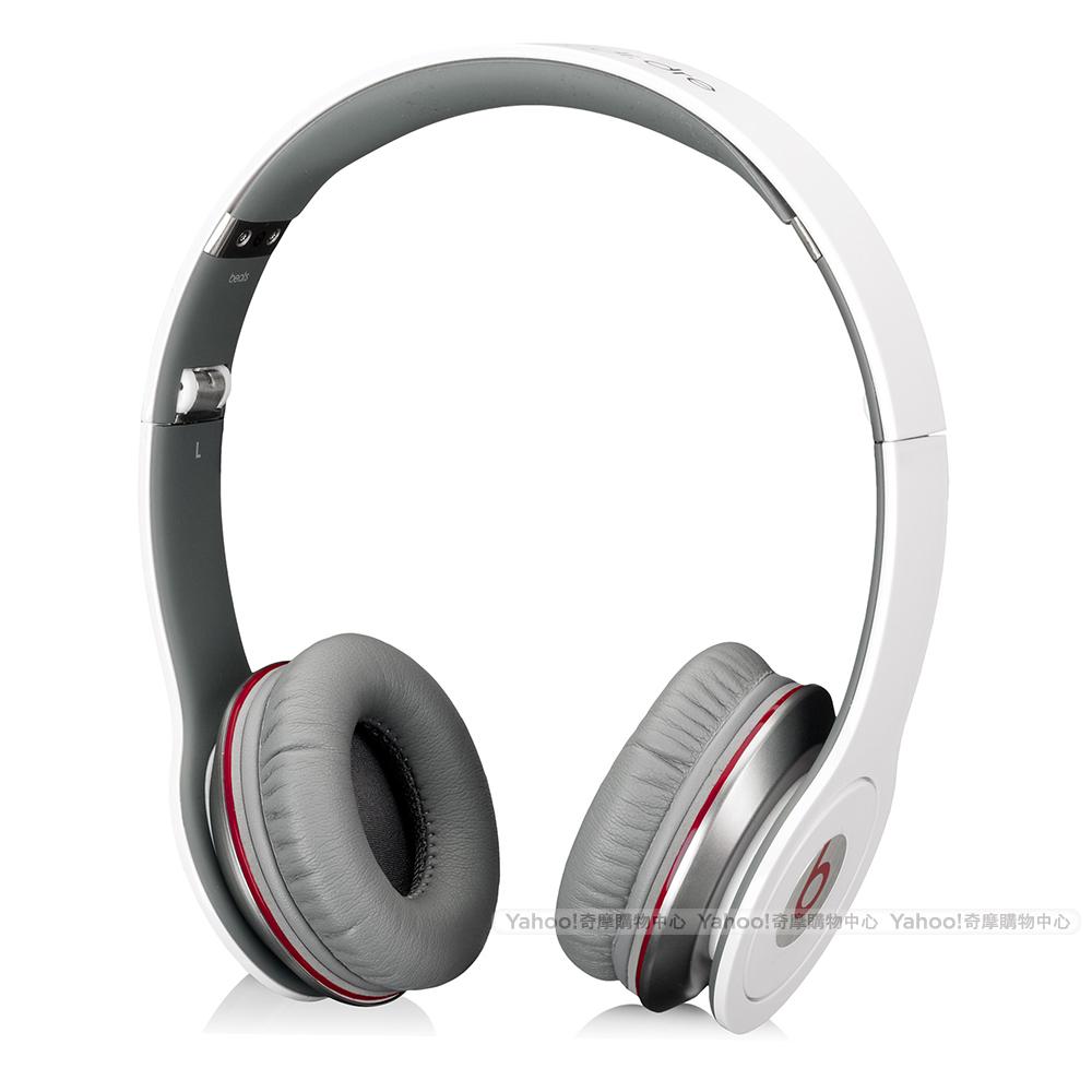BEATS耳機 Solo HD 白色 耳罩耳機 beats by dr. dre台灣公司貨