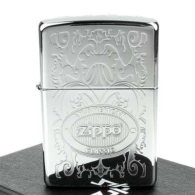 【ZIPPO】美系~Double Lustre加工-頂部Logo打印打火機