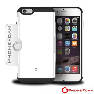 PhoneFoam SECRET iphone 6 /6s 吋插卡式立架吸震手機...