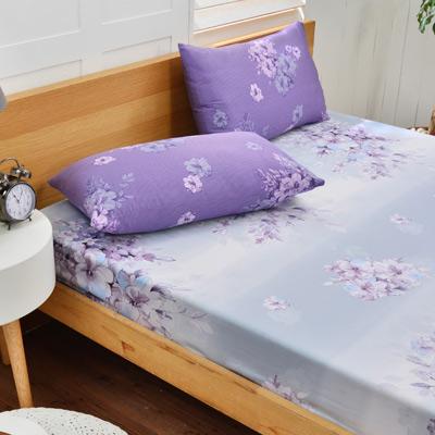 Saint Rose 夢想花語 雙人100%純天絲枕套床包三件組