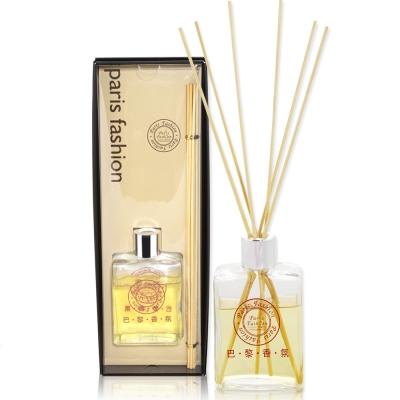 巴黎香氛 歡沁精油竹香液禮盒180ml(百合、玫瑰、茉莉、紫羅蘭)