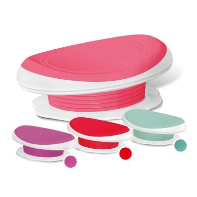 U2 腰摩3D曲線坐墊 (粉紅/紫/紅/綠)