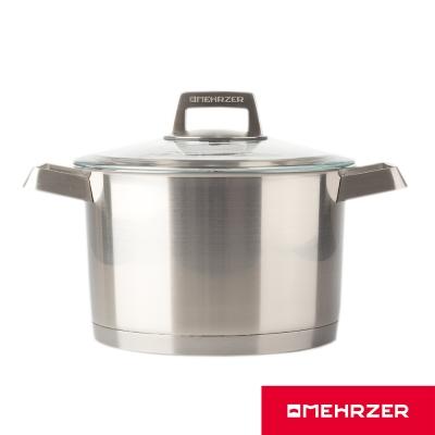 Omehrzer-歐梅樂不鏽鋼高湯鍋附蓋24cm