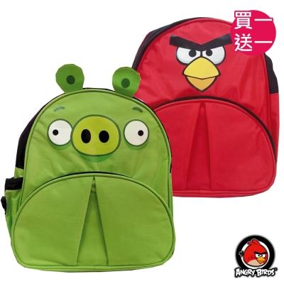 (買一送一) Angry Birds 兒童造型後背包